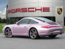 2010 Targa 4S -Bespoke factory finish Metallic Pink Paint copy