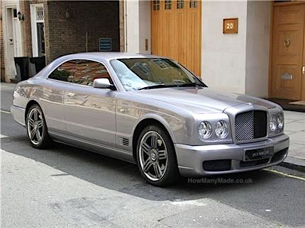 BENTLEY brooklands 2008-58. 8.5k £150k june 2012 copy