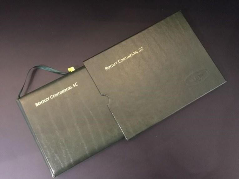 Bentley SC Handbook