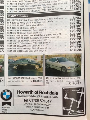 Jan 1996 - Rosso from Howarth ©howmanymade
