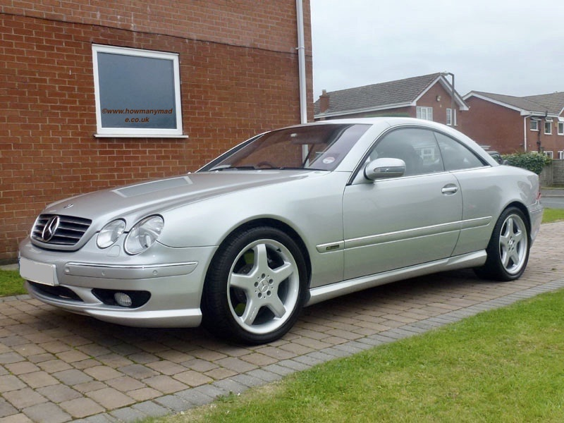 CL55 AMG F1 Edition ©howmanymade.co.uk