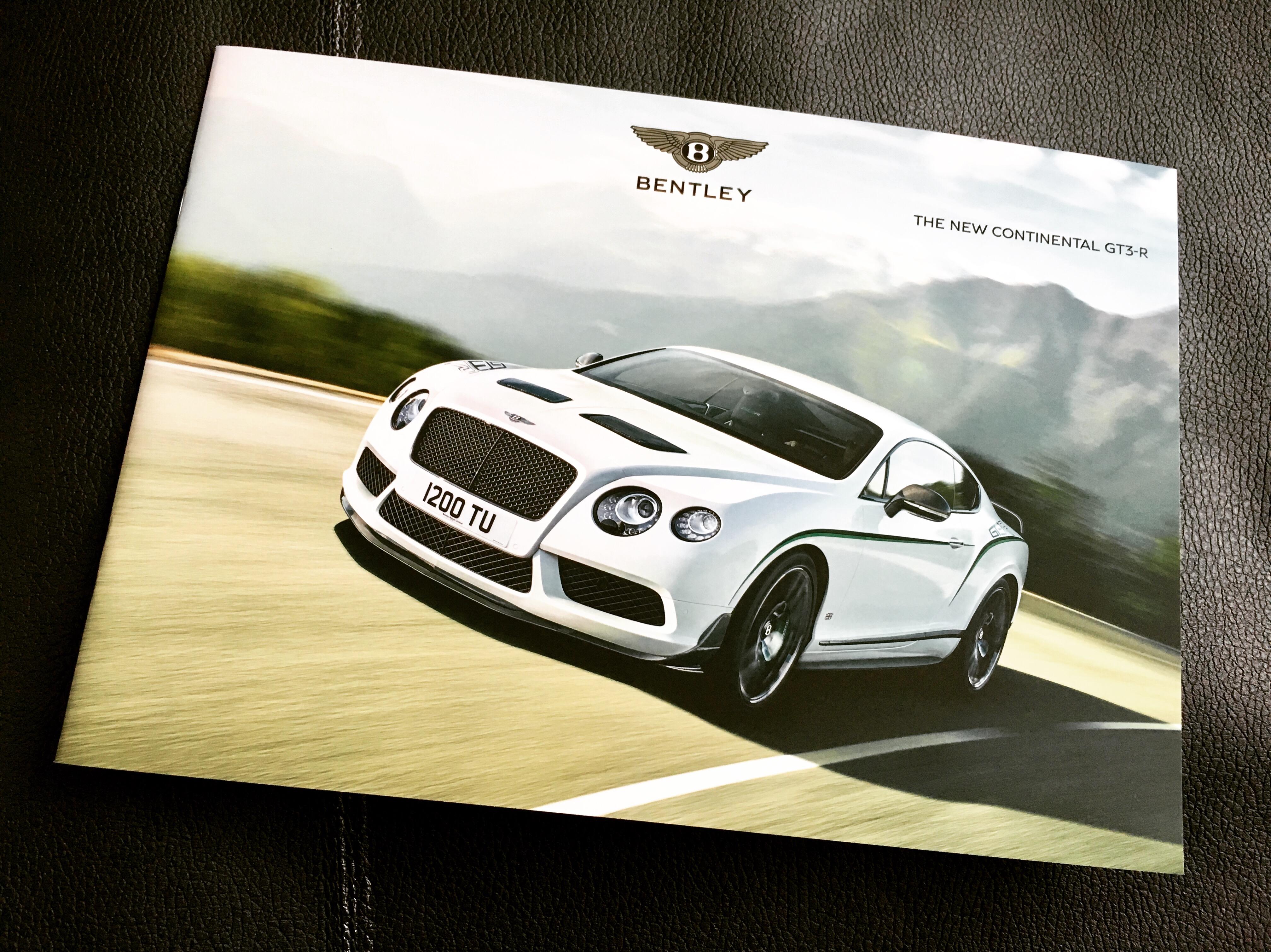 The GT3-R Brochure