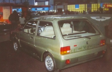 This is one of the other LHD cars at the Geneva Motor Show in 1982. Photo Credit ©PeterPaine/TickfordOwnersClub