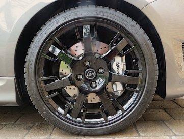 wheel profile - grey