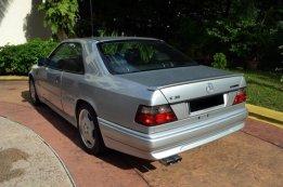 E36 silver coupe in Malaysia
