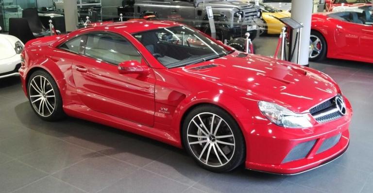 SL65 AMG Red- SA