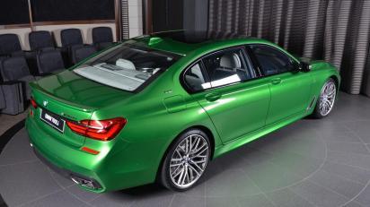 BMW 760iL - Raylle Green