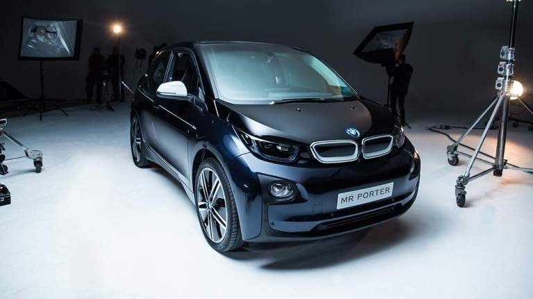 BMW i3 Mr Porter. Main Shot