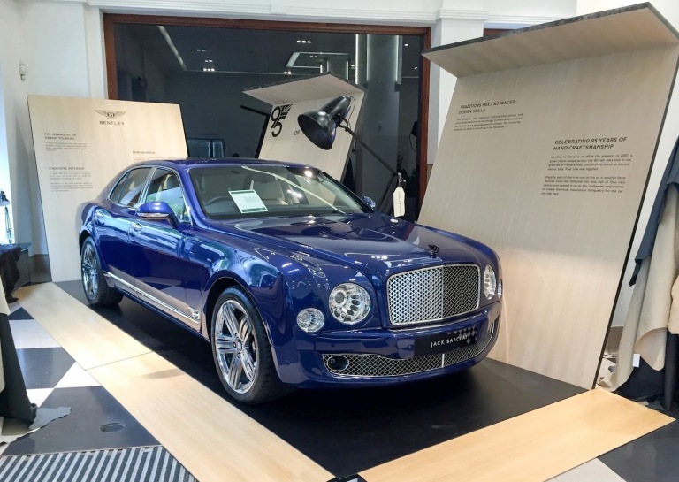 Bentley Mulsanne 95th Jack Barclay. ©carsandlife.net